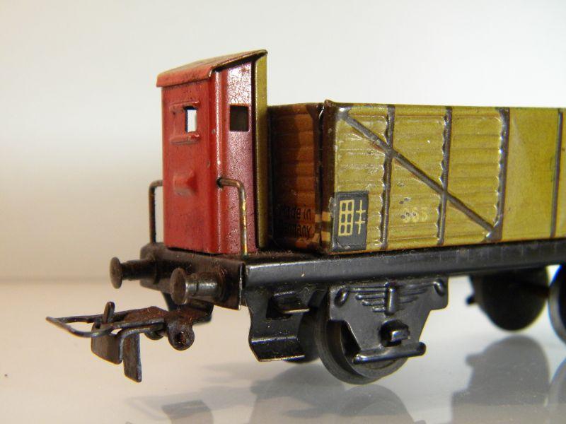 Märklin 371 Offener Güterwagen mit Bremserhaus 12527442xe