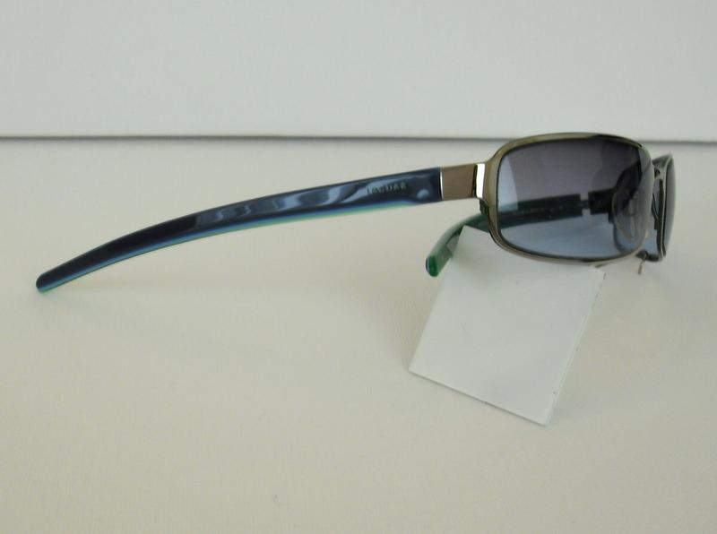 original jaguar sonnenbrille 37306 farbe 417 silber blau. Black Bedroom Furniture Sets. Home Design Ideas