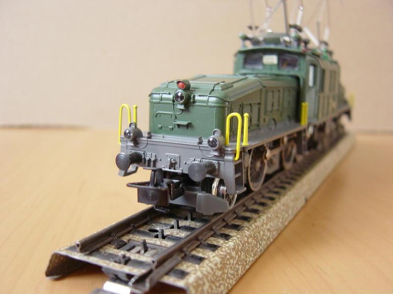 E-Lok Baureihe Be 6/8 -III der SBB (Märklin Art.Nr.3300) 12597324gy