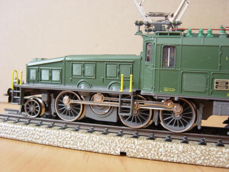 E-Lok Baureihe Be 6/8 -III der SBB (Märklin Art.Nr.3300) 12597347ct