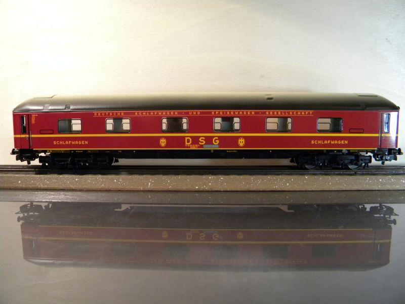 Märklin 0766-4 Schlafwagen DSG rot 12599395zm