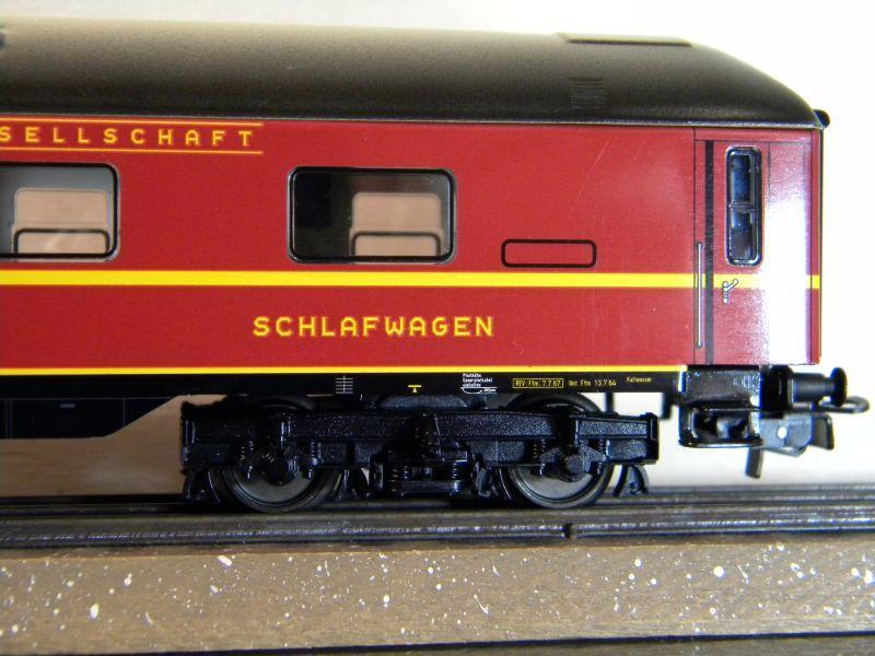 Märklin 0766-4 Schlafwagen DSG rot 12599396dp
