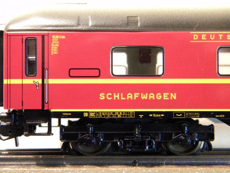 Märklin 0766-4 Schlafwagen DSG rot 12599397iy