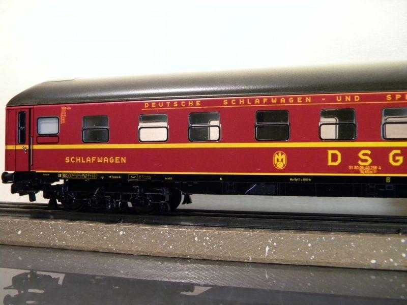 Märklin 0766-4 Schlafwagen DSG rot 12599399mg