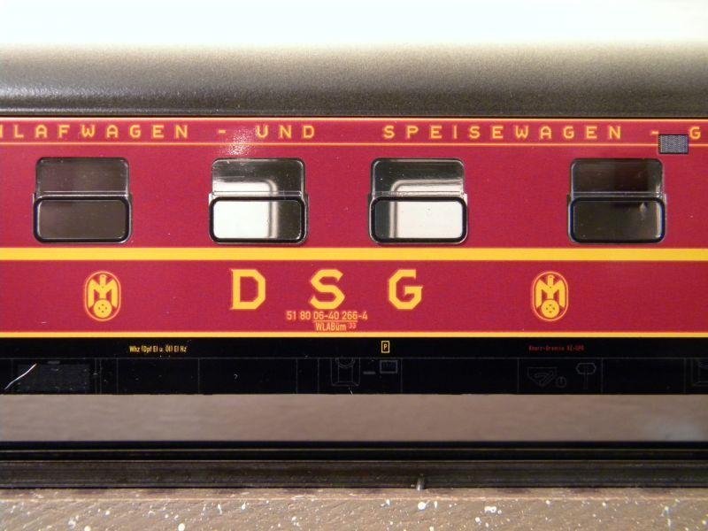 Märklin 0766-4 Schlafwagen DSG rot 12599400vj