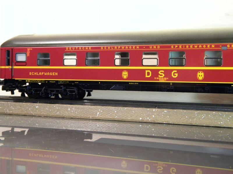 Märklin 0766-4 Schlafwagen DSG rot 12599402iq