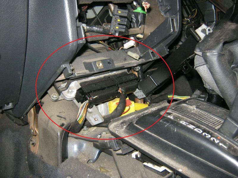 Wo ist das Motorsteuergerät beim frontera b? - Opel & ISUZU 4x4 Forum