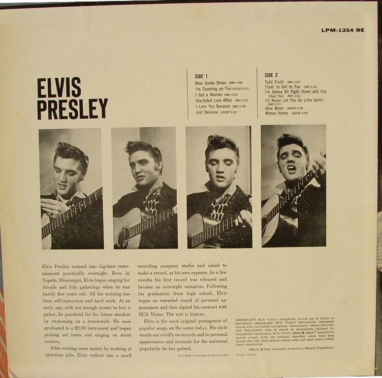 ELVIS PRESLEY 12661862ad