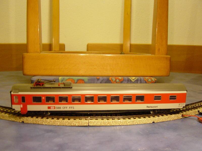 D-Zug Speisewagen SBB (MÄRKLIN Art.Nr.4217) 12662097vl
