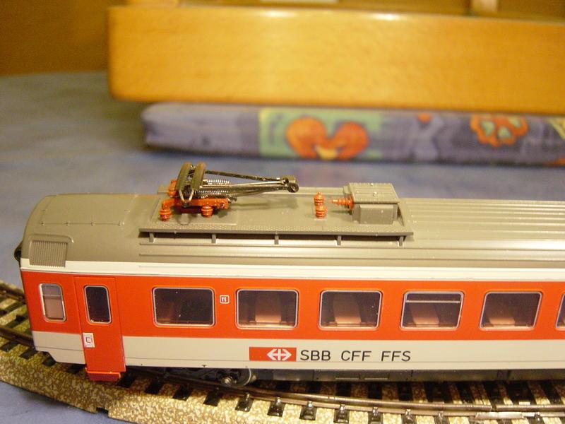 D-Zug Speisewagen SBB (MÄRKLIN Art.Nr.4217) 12662128ei