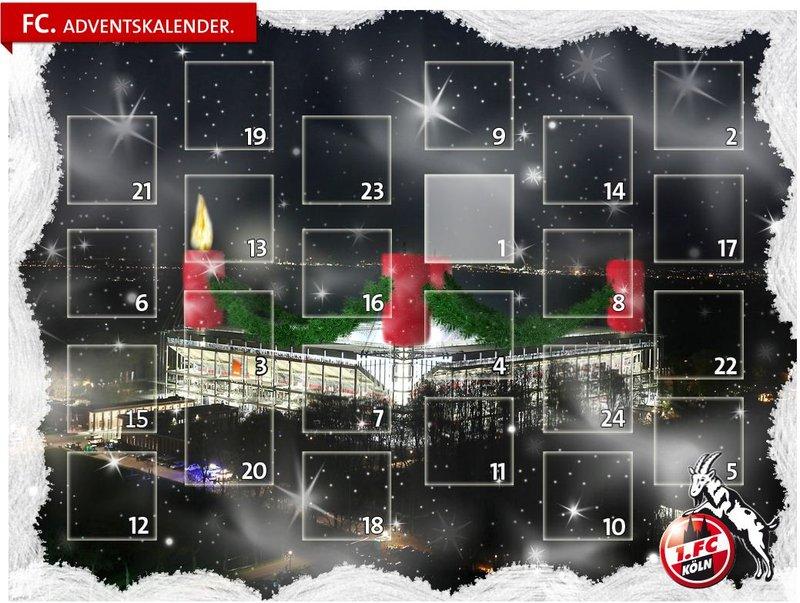 Fc Köln Adventskalender