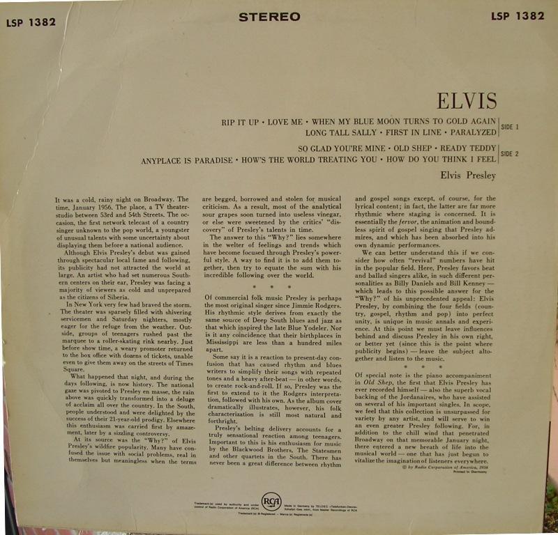 ELVIS 12668196nw