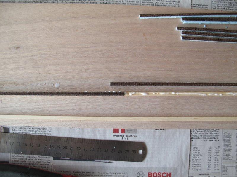 Ziegelstein Platten : Nach ein wenig Pfriemeln sind beide Kanten ...
