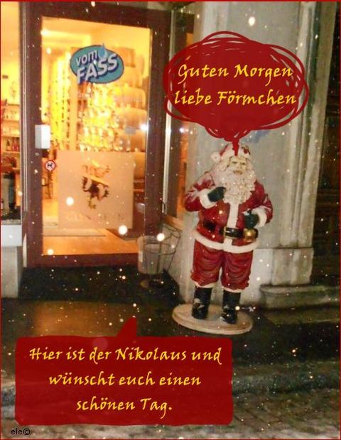 St Nikolaus 6 Dezember 2012