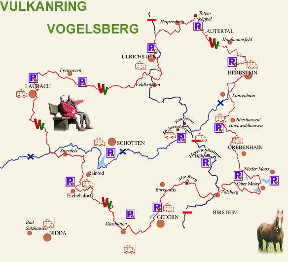 Walking The RING OF FIRE Vogelsberg Hessen Germany MREInfocom - Hessen germany