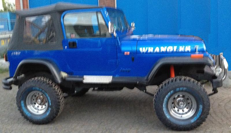 BIG BLUE  Aufzucht und Hege meines YJ  Jeep Community