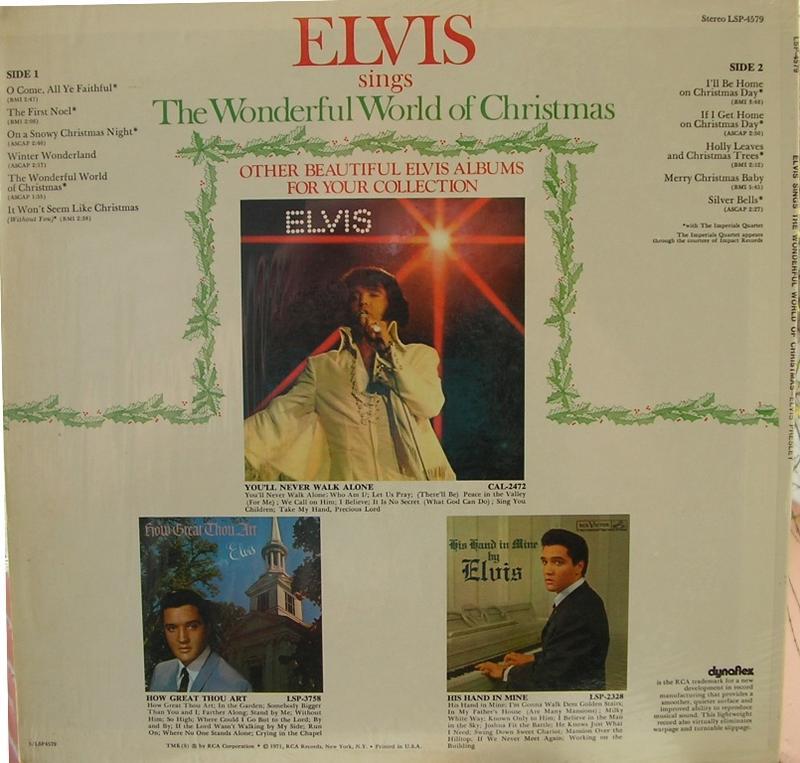 ELVIS SINGS THE WONDERFUL WORLD OF CHRISTMAS 12818341hd