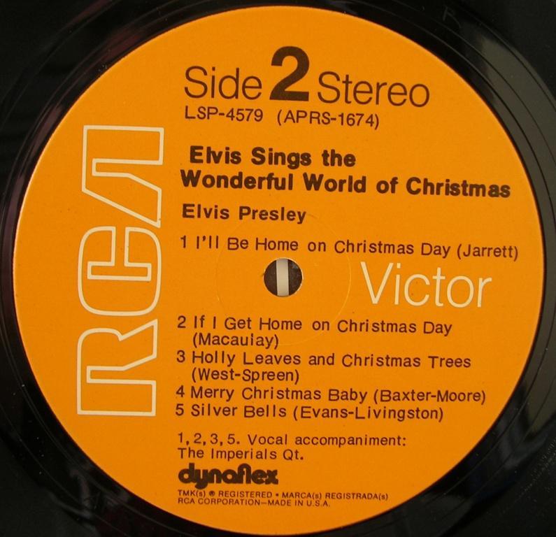 ELVIS SINGS THE WONDERFUL WORLD OF CHRISTMAS 12818344wt