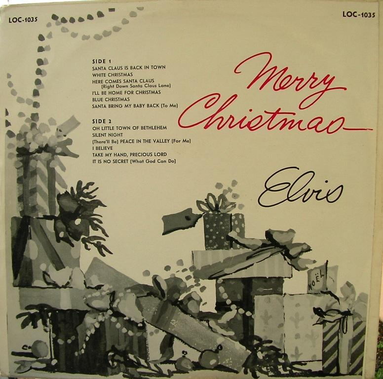 ELVIS' CHRISTMAS ALBUM (1958) 12818518gp