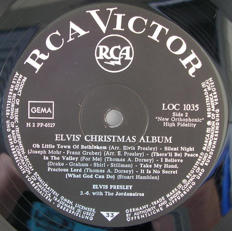 ELVIS' CHRISTMAS ALBUM (1958) 12818520mi