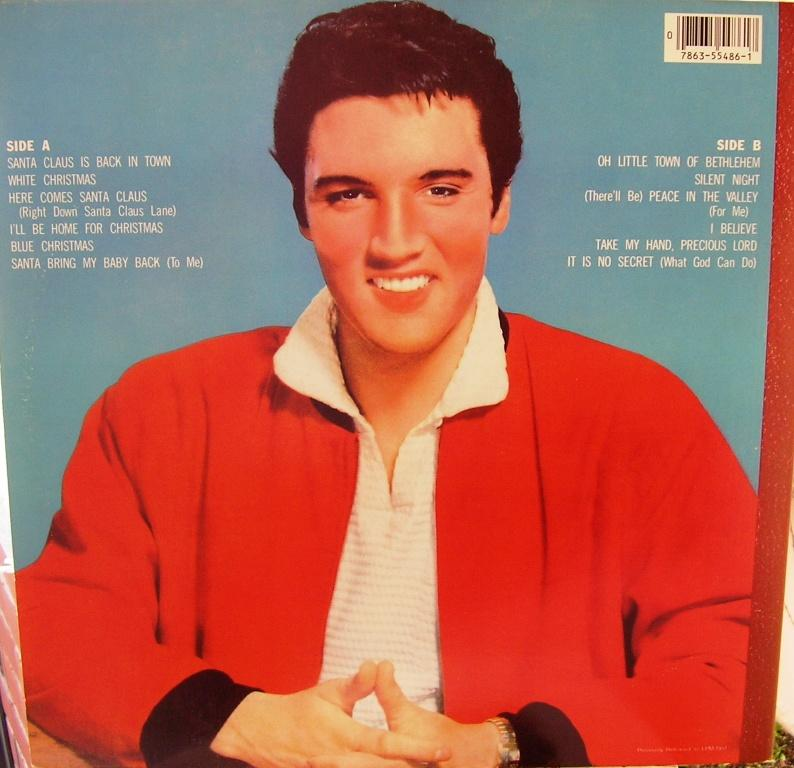 ELVIS' CHRISTMAS ALBUM 12818681gr