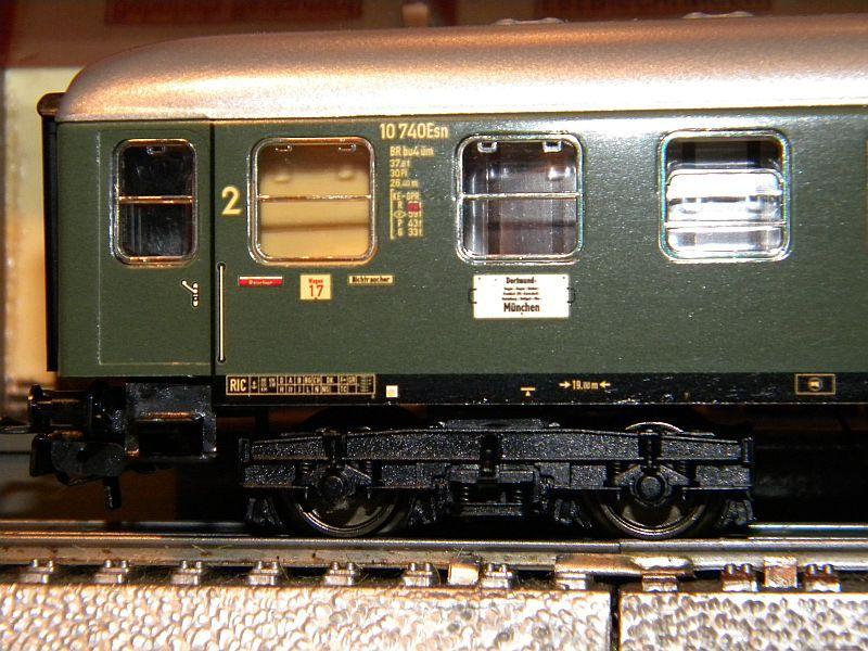 Märklin 0766-1 Buffetwagen DSG, grün 12823105rh