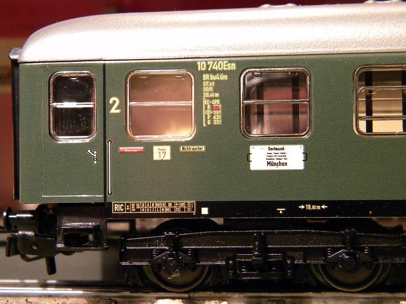 Märklin 0766-1 Buffetwagen DSG, grün 12823106ir