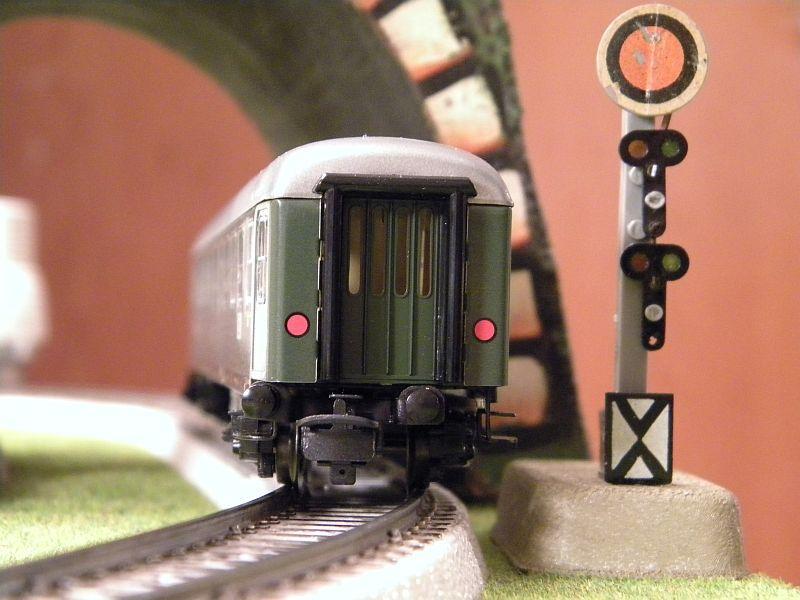 Märklin 0766-1 Buffetwagen DSG, grün 12823109wc