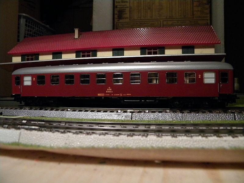 Märklin 0766-7 D-Zugwagen DSB, rot 12823196dh