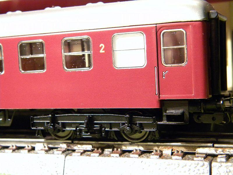 Märklin 0766-7 D-Zugwagen DSB, rot 12823199qh