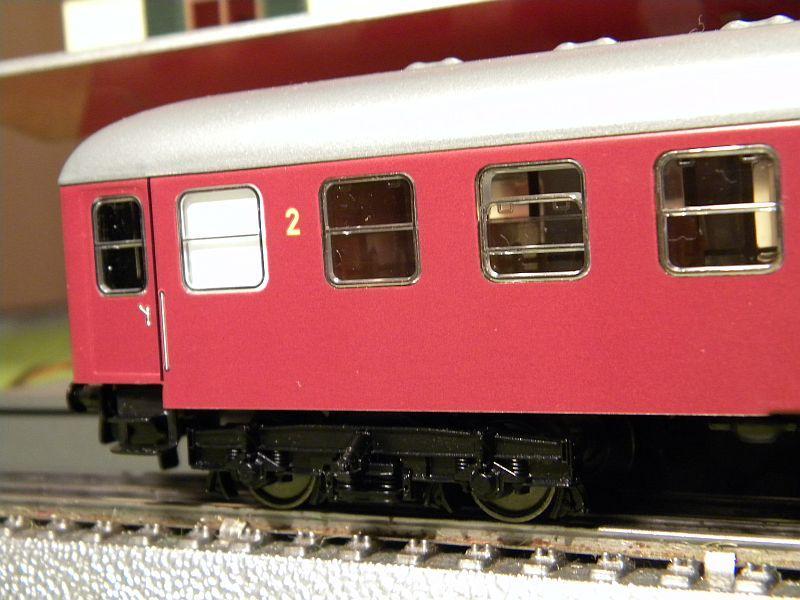 Märklin 0766-7 D-Zugwagen DSB, rot 12823200za