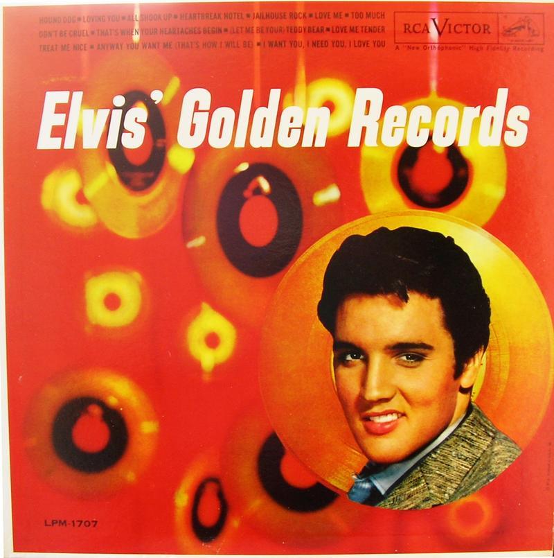 ELVIS' GOLD RECORDS  12918412br