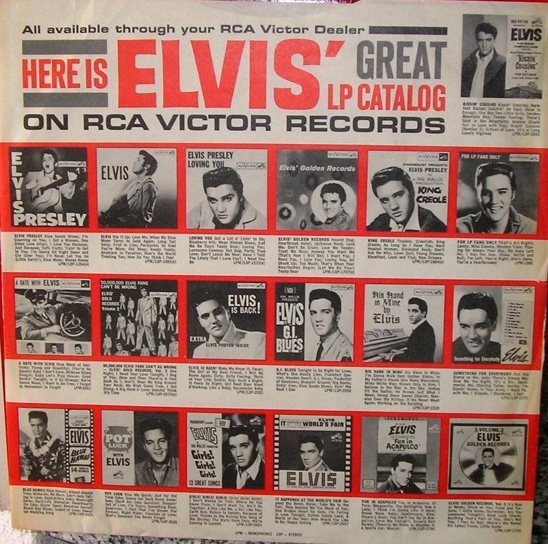 ELVIS' GOLD RECORDS  12918416ik
