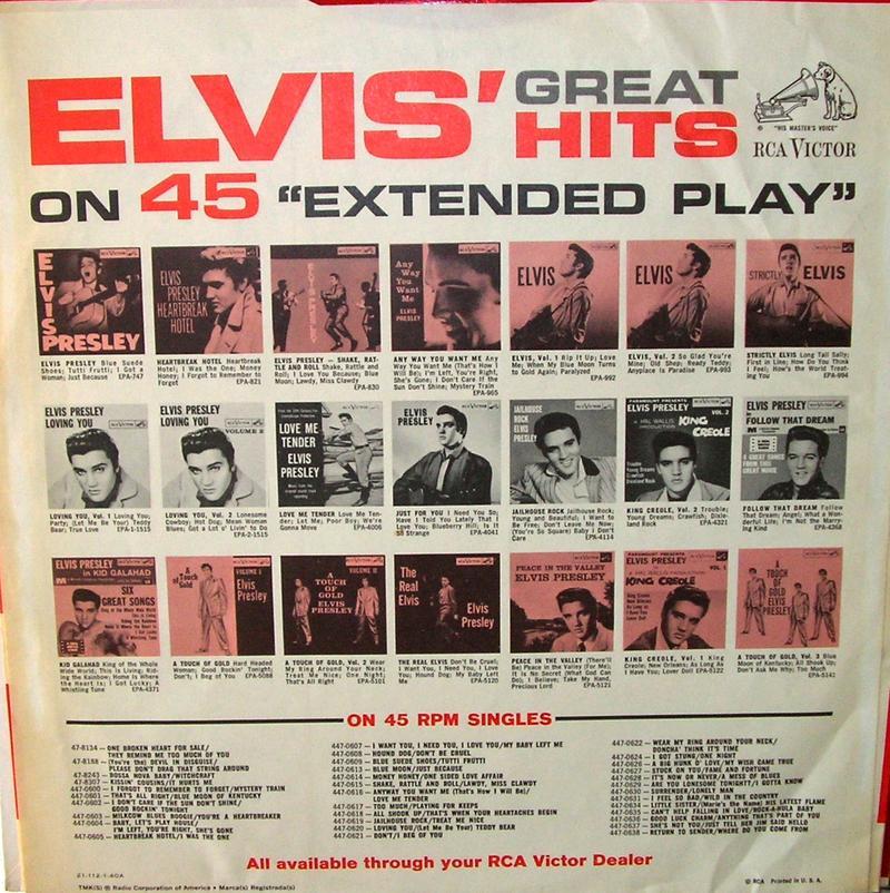 ELVIS' GOLD RECORDS  12918417xt
