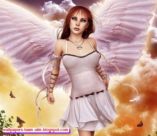 Девушки ангелы в картинках фото