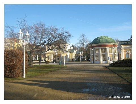 Kuranlage & Franzensquelle (Franzensbad)