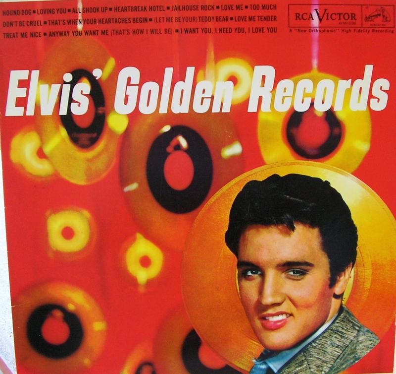 ELVIS' GOLD RECORDS  12992672ek