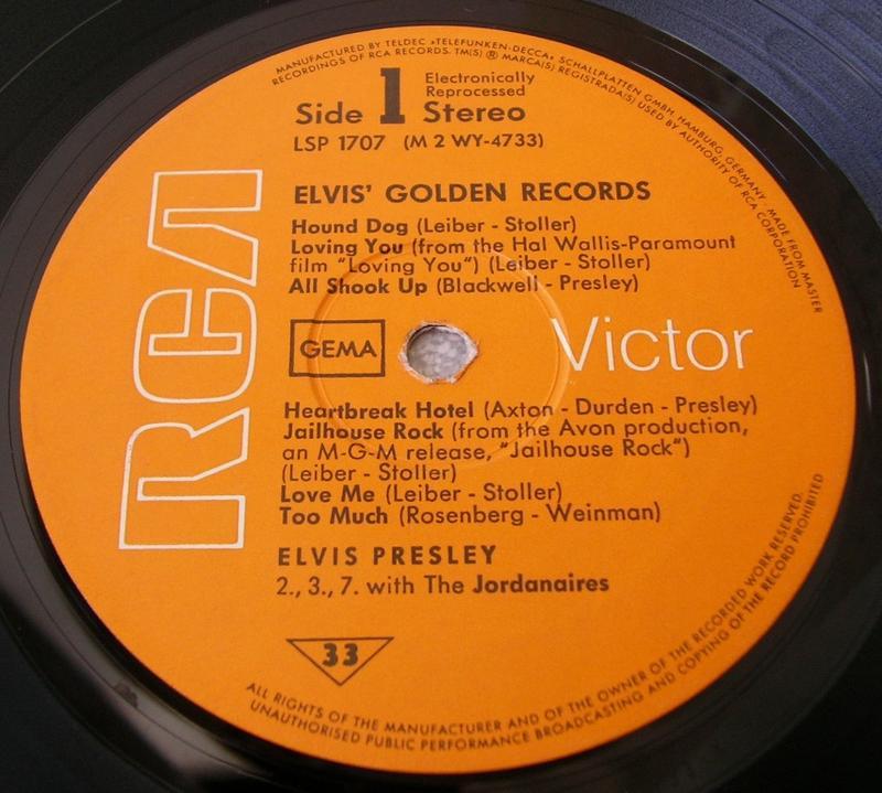 ELVIS' GOLDEN RECORDS 12993049im