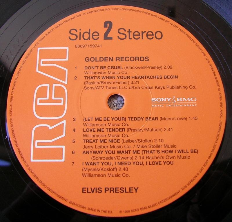 ELVIS' GOLDEN RECORDS 12993309of