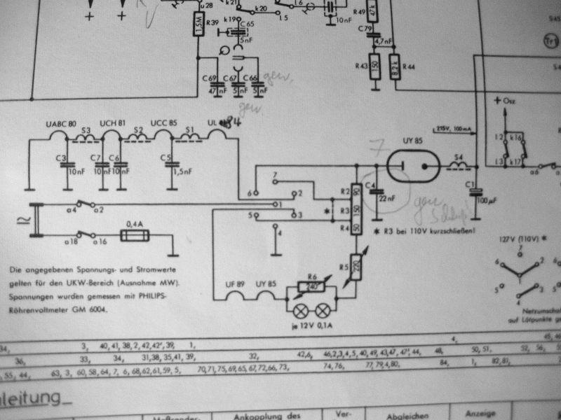Dampfradioforum • Thema anzeigen - Philetta BD 263U brandgefährlich ...
