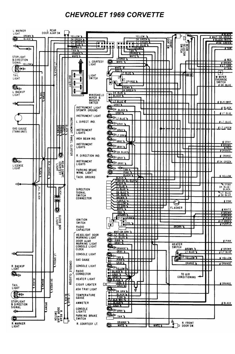 corvette wiring harness image wiring diagram 1969 corvette chis wiring diagram 1969 automotive wiring diagrams on 1969 corvette wiring harness