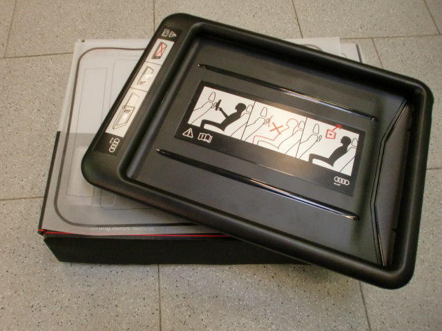 original audi ipad 4 adapter for the audi rear seat entertainment ebay. Black Bedroom Furniture Sets. Home Design Ideas
