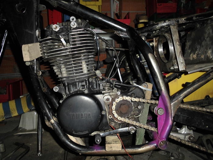 Enduro Gespann VMC mit Yamaha XT 500 Motor 13164958wp
