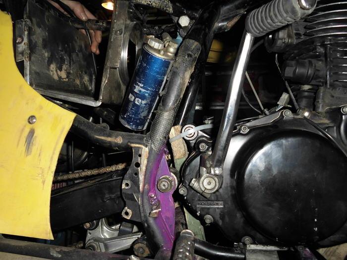 Enduro Gespann VMC mit Yamaha XT 500 Motor 13164959pw