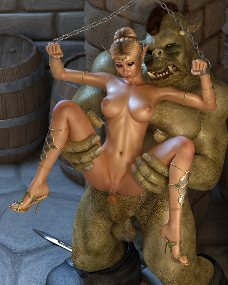 3d elf hentai sex at monster toon  xxx pictures