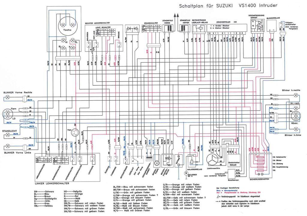 Fantastisch Vx Schaltplan Zeitgenössisch - Elektrische ...