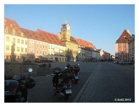 Marktplatz Cheb September 2012
