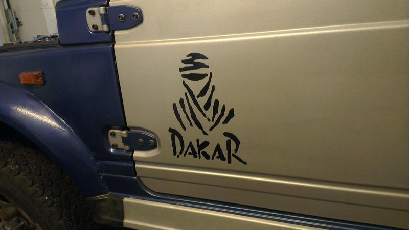 Suzuki Offroadnet Thema Anzeigen Dakar Aufkleber