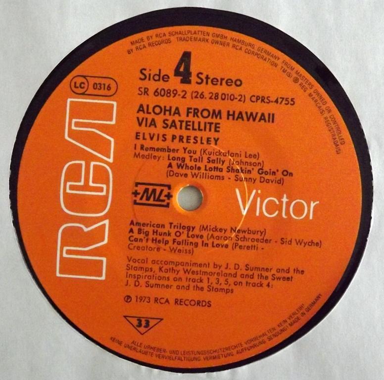 Hawaii - ALOHA FROM HAWAII VIA SATELLITE 13410344cz