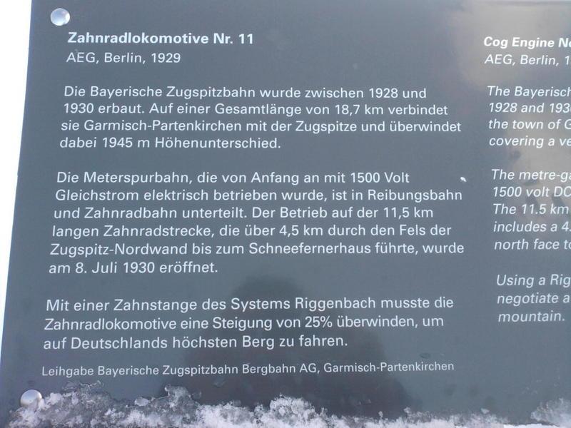 Zugspitzbahn Oldies 13413606xh